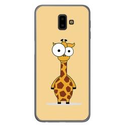 Funda Gel Tpu para Samsung Galaxy J6+ Plus Diseño Jirafa Dibujos