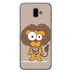 Funda Gel Tpu para Samsung Galaxy J6+ Plus Diseño Leon Dibujos