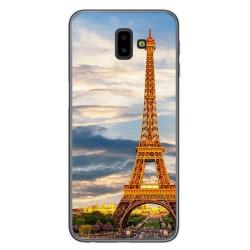 Funda Gel Tpu para Samsung Galaxy J6+ Plus Diseño Paris Dibujos