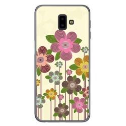 Funda Gel Tpu para Samsung Galaxy J6+ Plus Diseño Primavera En Flor Dibujos