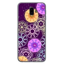 Funda Gel Tpu para Samsung Galaxy J6+ Plus Diseño Radial Dibujos