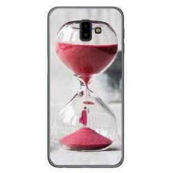 Funda Gel Tpu para Samsung Galaxy J6+ Plus Diseño Reloj Dibujos