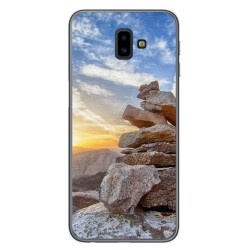 Funda Gel Tpu para Samsung Galaxy J6+ Plus Diseño Sunset Dibujos