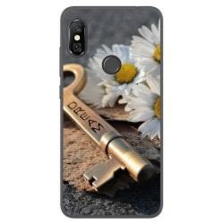 Funda Gel Tpu para Xiaomi Redmi Note 6 Pro Diseño Dream Dibujos