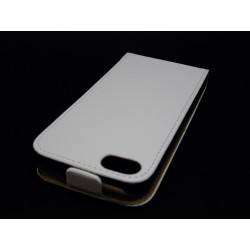 Funda Piel Premium Ultra-Slim Iphone 5C Blanca