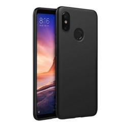 Funda Gel Tpu Tipo Mate Negra para Xiaomi Mi Max 3