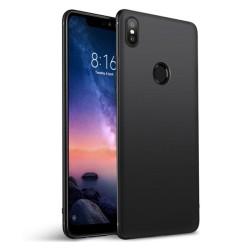 Funda Gel Tpu Tipo Mate Negra para Xiaomi Redmi Note 6 Pro