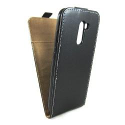 Funda Piel Premium Negra Ultra-Slim para Xiaomi Pocophone F1