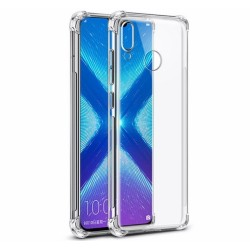 Funda Gel Tpu Anti-Shock Transparente para Huawei Honor 8X