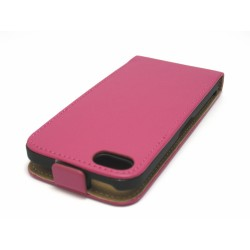 Funda Piel Premium Ultra-Slim Iphone 5C Rosa / Fucsia