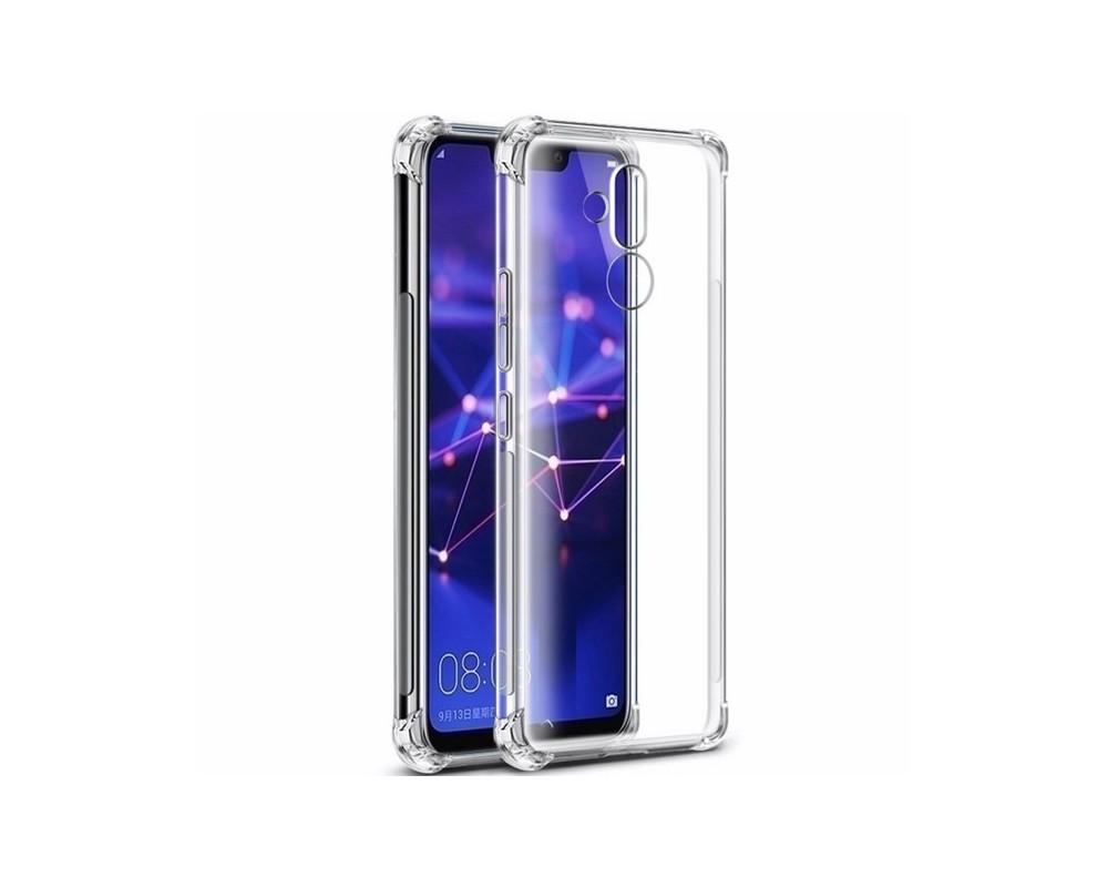 Funda Gel Tpu Anti-Shock Transparente para Huawei Mate 20 Lite