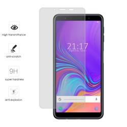 Protector Cristal Templado para Samsung Galaxy A7 (2018) Vidrio