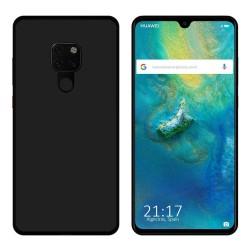 Funda Gel Tpu para Huawei Mate 20 Color Negra