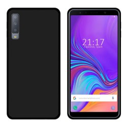 Funda Gel Tpu para Samsung Galaxy A7 (2018) Color Negra