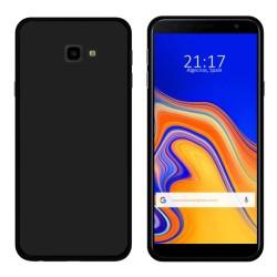 Funda Gel Tpu para Samsung Galaxy J4+ Plus Color Negra