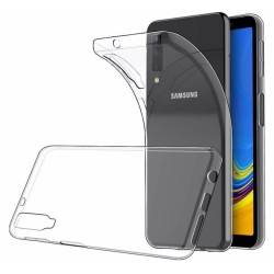 Funda Gel Tpu Fina Ultra-Thin 0,5mm Transparente para Samsung Galaxy A7 (2018)