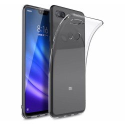 Funda Gel Tpu Fina Ultra-Thin 0,5mm Transparente para Xiaomi Mi 8 Lite