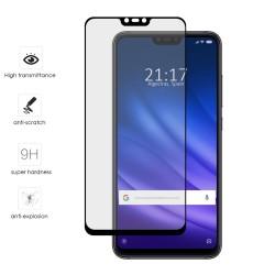 Protector Cristal Templado Frontal Completo Negro para Xiaomi Mi 8 Lite Vidrio