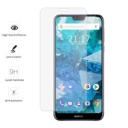 Protector Cristal Templado para Nokia 7.1 Vidrio