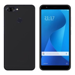 Funda Gel Tpu para Asus Zenfone Max Plus M1 Color Negra