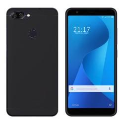 Funda Gel Tpu para Asus Zenfone Max Plus M1 Color Negra