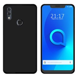 Funda Gel Tpu para Alcatel 5V Color Negra