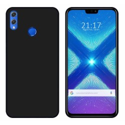 Funda Gel Tpu para Huawei Honor 8X Color Negra