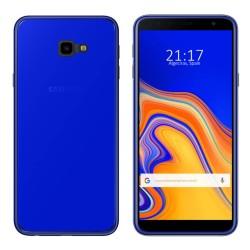 Funda Gel Tpu para Samsung Galaxy J4+ Plus Color Azul