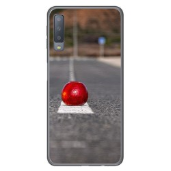 Funda Gel Tpu para Samsung Galaxy A7 (2018) Diseño Apple Dibujos