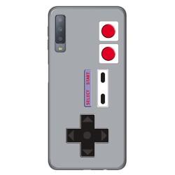 Funda Gel Tpu para Samsung Galaxy A7 (2018) Diseño Consola Dibujos