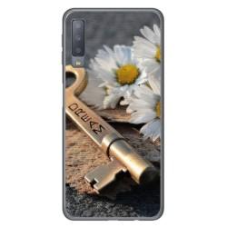 Funda Gel Tpu para Samsung Galaxy A7 (2018) Diseño Dream Dibujos