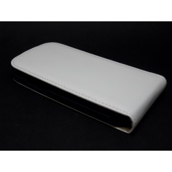 Funda Piel Premium Samsung Galaxy Ace 3 S7270 / S7272 / S7275 Blanca
