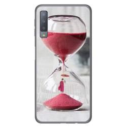Funda Gel Tpu para Samsung Galaxy A7 (2018) Diseño Reloj Dibujos