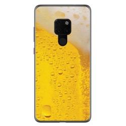 Funda Gel Tpu para Huawei Mate 20 Diseño Cerveza Dibujos