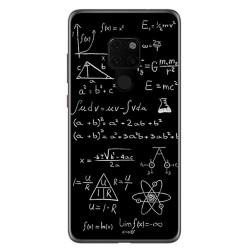 Funda Gel Tpu para Huawei Mate 20 Diseño Formulas Dibujos
