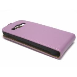 Funda Piel Premium Samsung Galaxy Ace 3 S7270 / S7272 / S7275 Morada