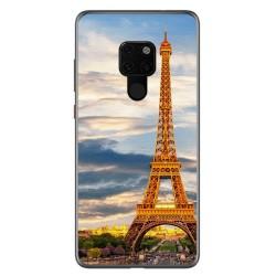 Funda Gel Tpu para Huawei Mate 20 Diseño Paris Dibujos