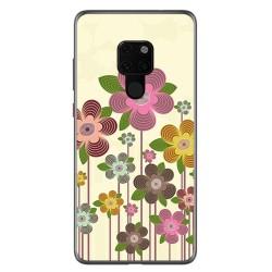 Funda Gel Tpu para Huawei Mate 20 Diseño Primavera En Flor Dibujos