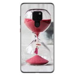 Funda Gel Tpu para Huawei Mate 20 Diseño Reloj Dibujos