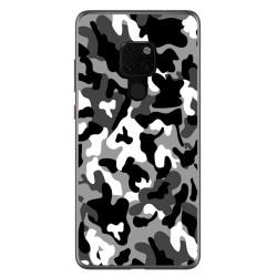Funda Gel Tpu para Huawei Mate 20 Diseño Snow Camuflaje Dibujos