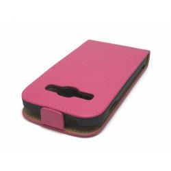 Funda Piel Premium Samsung Galaxy Ace 3 S7270 / S7272 / S7275 Rosa