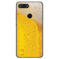 Funda Gel Tpu para Xiaomi Mi 8 Lite Diseño Cerveza Dibujos
