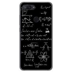Funda Gel Tpu para Xiaomi Mi 8 Lite Diseño Formulas Dibujos