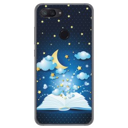 Funda Gel Tpu para Xiaomi Mi 8 Lite Diseño Libro Cuentos Dibujos