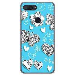 Funda Gel Tpu para Xiaomi Mi 8 Lite Diseño Mariposas Dibujos