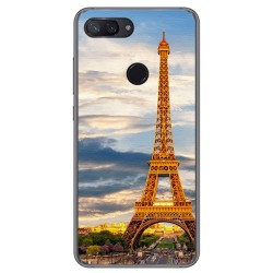 Funda Gel Tpu para Xiaomi Mi 8 Lite Diseño Paris Dibujos