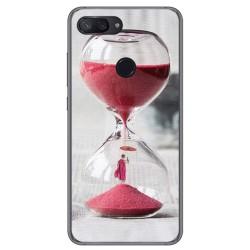 Funda Gel Tpu para Xiaomi Mi 8 Lite Diseño Reloj Dibujos