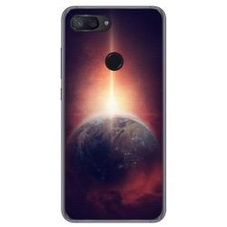 Funda Gel Tpu para Xiaomi Mi 8 Lite Diseño Tierra Dibujos