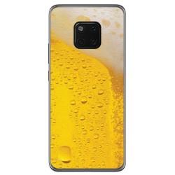 Funda Gel Tpu para Huawei Mate 20 Pro Diseño Cerveza Dibujos