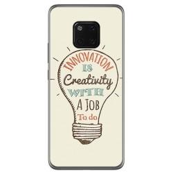 Funda Gel Tpu para Huawei Mate 20 Pro Diseño Creativity Dibujos